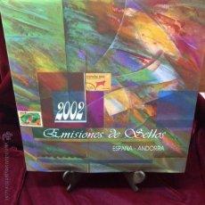 Sellos: LIBRO ANUAL DE CORREOS ESPAÑA 2002. Lote 46483563