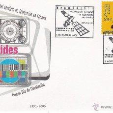 Sellos: MADRID.- SOBRE CON MATASELLO DE PRIMER DIA, 50 AÑOS DE TELEVISION ESPAÑOLA SELLO Nº 4282. Lote 242287850