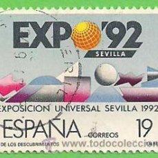 Sellos: EDIFIL 2875. EXPOSICIÓN UNIVERSAL DE SEVILLA EXPO'92. (1987).. Lote 46634193