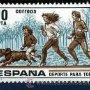 SELLO DE 10 PESETAS DE 1979 - 16 DE MARZO DEPORTES PARA TODOS - Nº2