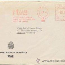 Sellos: CARTA CON MEMBRETE(RADIOTELEVISIÓN ESPAÑOLA) DE PRADO DEL REY A JUNILLA DEL 18-2 1981. CONTIENE LAS-. Lote 46839054