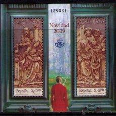 Sellos: ESPAÑA 2009 - NAVIDAD - BLOCK EDIFIL Nº 4522. Lote 288152888
