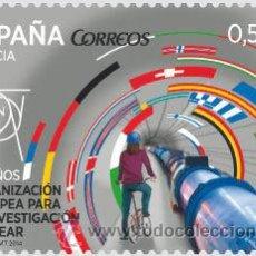 Timbres: AÑO 2014 (4849) CENTRO EUROPEO INVESTIGACION NUCLEAR (NUEVO). Lote 47010719