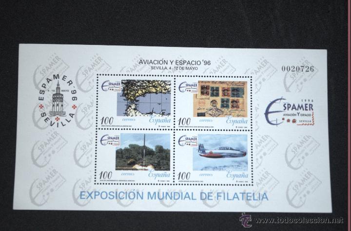 ESPAÑA EDIFIL 3433 ESPAMER AVIACIÓN Y ESPACIO (Sellos - España - Juan Carlos I - Desde 1.986 a 1.999 - Nuevos)