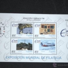 Sellos: ESPAÑA EDIFIL 3433 ESPAMER AVIACIÓN Y ESPACIO. Lote 47210037