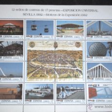 Sellos: ESPAÑA 1992 EDIFIL 3164/75 EXPO. SEVILLA. Lote 47210169