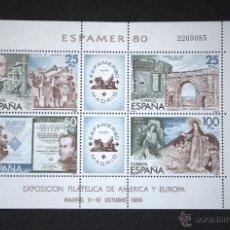 Sellos: ESPAÑA EDIFIL 2583 HB ESPAMER 1980. Lote 47269404
