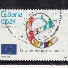 Sellos: ESPAÑA 4080 USADA, AMPLIACION DE LA UNION EUROPEA,. Lote 214366798