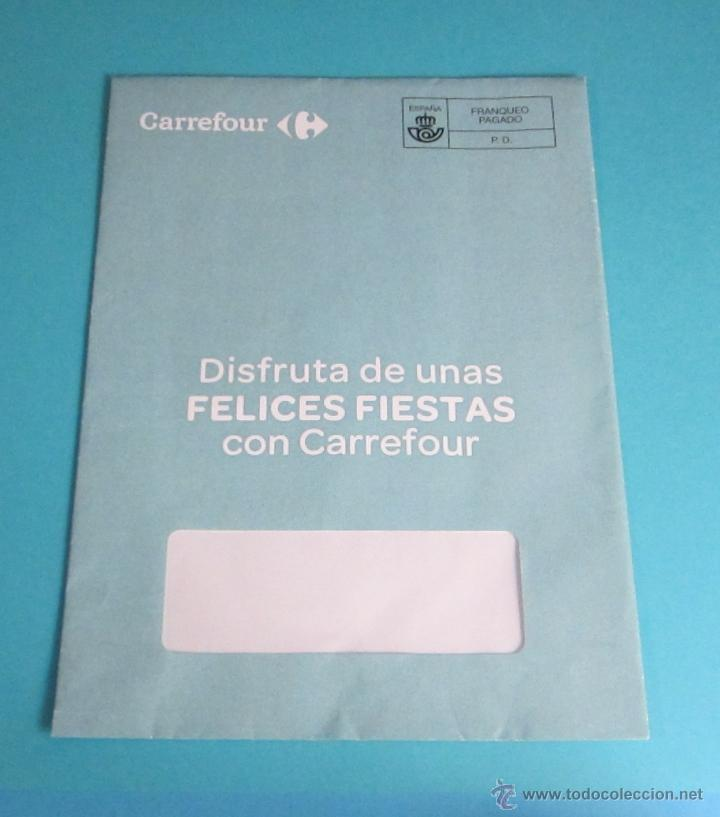 SOBRE FRANQUEO PAGADO. CARREFOUR (Sellos - España - Juan Carlos I - Desde 2.000 - Cartas)