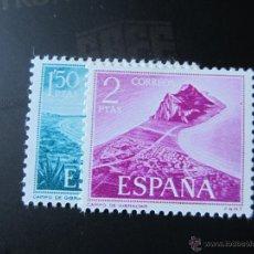 Sellos: 1969. PRO TRABAJADORES ESPAÑOLES DE GIBRALTAR. EDIFIL 1933/34. Lote 52351322