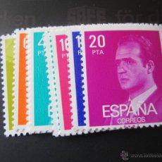 Sellos: 1977. S.M. DON JUAN CARLOS I. EDIFIL 2386/96. Lote 94575364