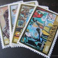 Sellos: 1978. PABLO RUIZ PICASSO. EDIFIL 2481/88. Lote 52349514