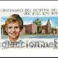 Sellos: AÑO 1979 (2548) CENTENARIO HOSPITAL NIÑO JESUS (NUEVO). Lote 47447850