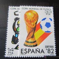 Sellos: 1982. COPA MUNDIAL DE FUTBOL ESPAÑA 82. EDIFIL 2644/45. Lote 205822465