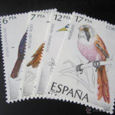 Sellos: 1985. PÁJAROS. EDIFIL 2820/23. Lote 52349931