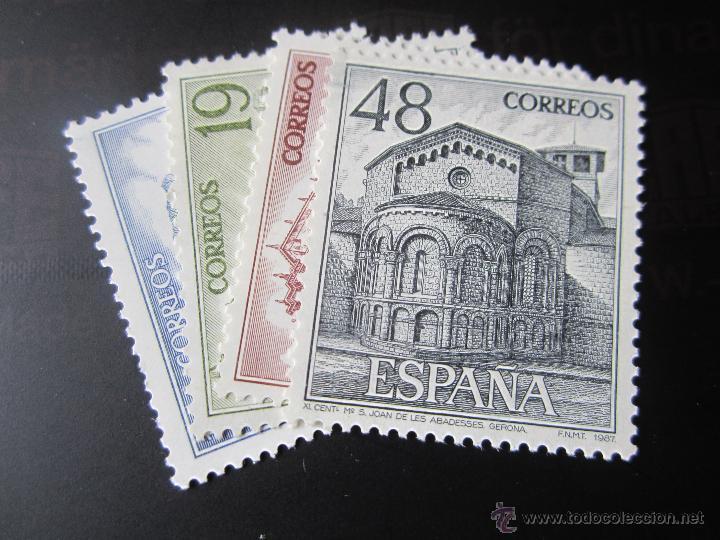 1987. TURISMO. EDIFIL 2900/03 (Sellos - España - Juan Carlos I - Desde 1.986 a 1.999 - Nuevos)