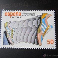 Sellos: 1989. V COPA DEL MUNDO DE ATLETISMO. EDIFIL 3023. Lote 47494725