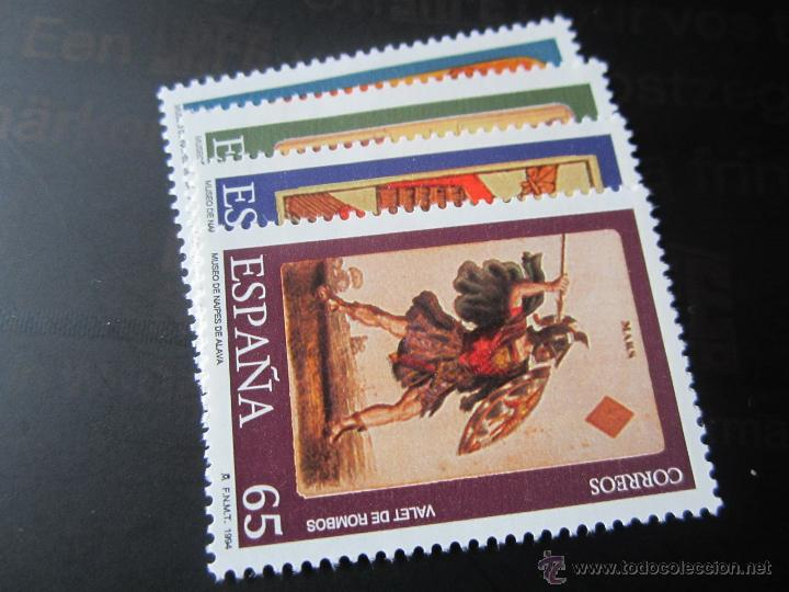 1994. MUSEO DE NAIPES. EDIFIL 3317/20 (Sellos - España - Juan Carlos I - Desde 1.986 a 1.999 - Nuevos)