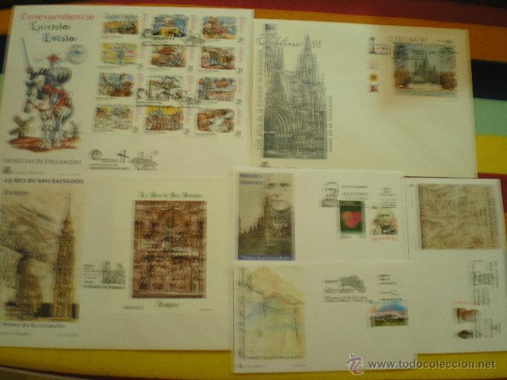6 SOBRES 1º DIA, AÑO 1.998 (Sellos - España - Juan Carlos I - Desde 1.986 a 1.999 - Cartas)