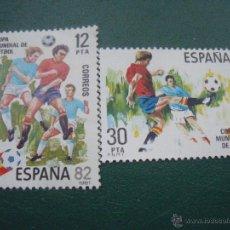 Sellos: ESPAÑA 1981 EDIFIL 2613/4 ESPAÑA 82. Lote 47515322