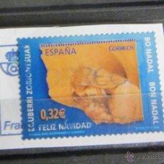 Sellos: NAVIDAD. 0,32 €. 2009. PEGADO. Lote 47609197