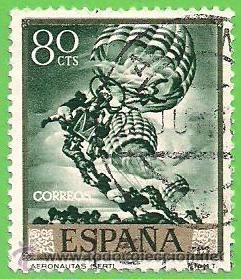 EDIFIL 1713. JOSÉ Mª SERT - ''LOS ARGONAUTAS''. (1966). (Sellos - España - Juan Carlos I - Desde 1.975 a 1.985 - Usados)