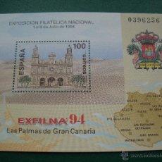 Sellos: ESPAÑA 1994 EDIFIL 3313 HB EXFILNA 94. Lote 47684316