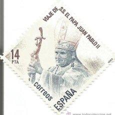 Sellos: ** S04 - SELLO ESPAÑA - VIAJE DE S. S. EL PAPA JUAN PABLO II - RF. 000. Lote 47702985
