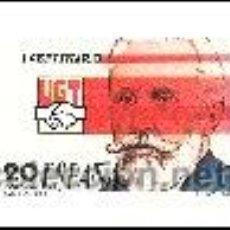 Sellos: AÑO 1988 (2948) I CENTENARIO DE LA UGT (USADO). Lote 47732871