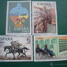 Sellos: ESPAÑA 1976 EDIFIL 2329/32 SERVICIO DE CORREOS. Lote 47746614
