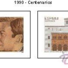 Sellos: AÑO 1990 (3069-3072) CENTENARIOS (NUEVO). Lote 47820772