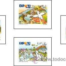 Sellos: AÑO 1990 (3050-3053) EXPO 92, SEVILLA (NUEVO). Lote 47820978