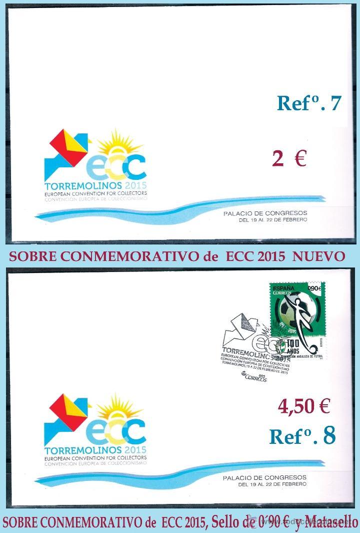 Sellos: 2ª CONVENCION EUROPEA DE COLECCIONISMO ECC 2015 en TORREMOLINOS - Málaga - PRODUCTOS - Foto 4 - 47962109