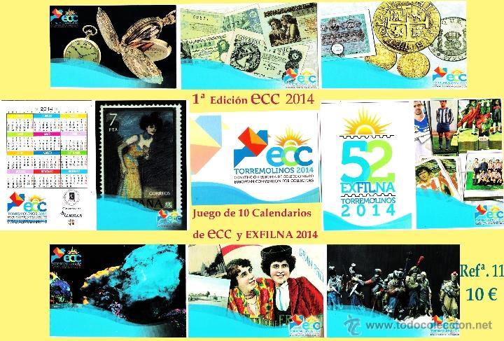 Sellos: Calendarios ECC 2014 Torremolinos - Foto 9 - 47962109