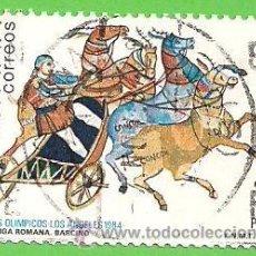 Stamps - EDIFIL 2768. JUEGOS OLÍMPICOS. LOS ÁNGELES - CUADRIGA ROMANA. (1984). - 48132357