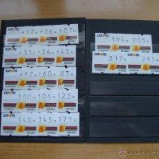 Sellos: ATMS EXPO 92 TRES DIGITOS NUEVOS PERFECTOS. Lote 72919006