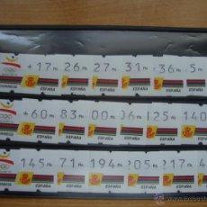 Sellos: ATMS BARCELONA 92 3 DIGITOS NUEVOS Y PERFECTOSS. Lote 72919114