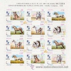 Sellos: AÑO 1998 (3608-3613A) EXPOSICION MUNDIAL FILATELICA ESPAÑA 2000 (NUEVO). Lote 48348455