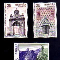 Sellos: ESPAÑA 1991 - BIENES CULTURALES PATRIMONIO DE LA HUMANIDAD - EDIFIL Nº 3146-3149. Lote 158156028
