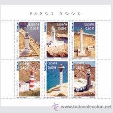 Sellos: AÑO 2008 (4430) HB FAROS 08 (NUEVO). Lote 48403296