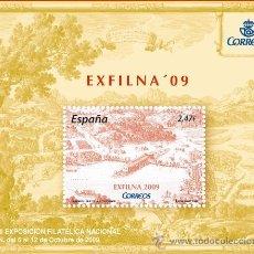 Sellos: AÑO 2009 (4512) HB EXFILNA 09, IRUN (NUEVO). Lote 48422095