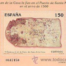 Sellos: AÑO 2000 (3722) HB CARTA DE JUAN DE LA COSA (NUEVO). Lote 48490784