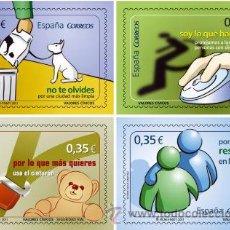 Sellos: AÑO 2011 (4639-4642) VALORES CIVICOS (NUEVO). Lote 48500793