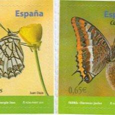 Sellos: AÑO 2011 (4622-4625) MARIPOSAS (NUEVO). Lote 48501356