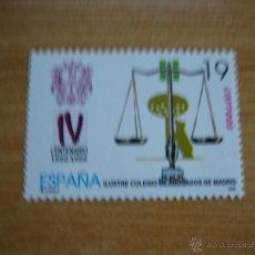 Sellos: SERIE IV CENTENARIO COLEGIO ABOGADOS AÑO 1996 EDIFIL 3417 NUEVOS SIN CHARNELA. Lote 80887052