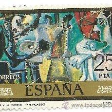 Sellos: ** S38 - SELLO ESPAÑA - EL PINTOR Y LA MODELO - PICASSO - 25 PTA. Lote 48655208