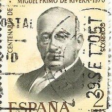 Sellos: ** S39 - SELLO ESPAÑA - CENTENARIO DE MIGUEL PRIMO DE RIVERA - 2 PTA. Lote 48655354