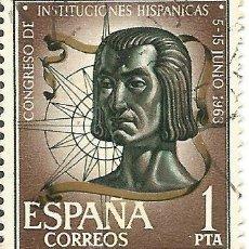 Sellos: ** S42 - SELLO ESPAÑA - CONGRESO DE INSTITUCIONES HISPANICAS - 1 PTA. Lote 48655437