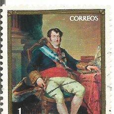 Sellos: ** S56 - SELLO ESPAÑA - FERNANDO VII - VICENTE LOPEZ - 1 PTA. Lote 48656441