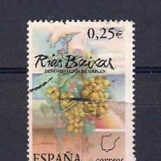 Sellos: VINOS EN ESPAÑA-. AÑO 2002. Lote 48792890